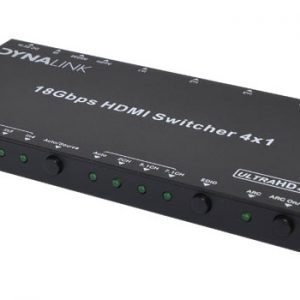 A3082 • 4 Way 4K HDMI Switcher With Audio Extractor & RS232