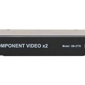 A3100 • 2 Way Component Video Distribution Amp