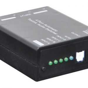 A3212 • 4 Way Auto Toslink S/PDIF Switcher