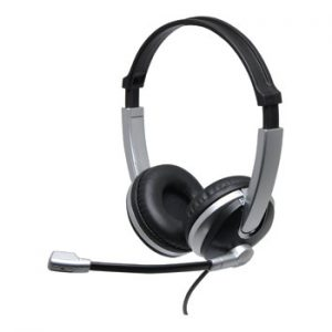 C9046 • Over Ear USB Headphones With Microphone