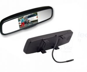 "LCD50C 5"" - CLIP-ON MIRROR MONITOR"
