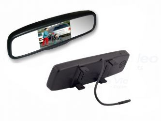 """LCD50C 5"""" - CLIP-ON MIRROR MONITOR"""