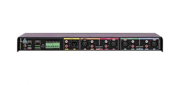 A4435 • 4 Channel Public Address (PA) Mixer With MP3 Message Player