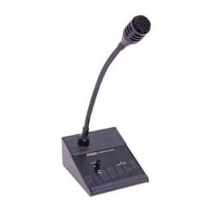 A4486 • 1 Zone Line Level Paging Microphone