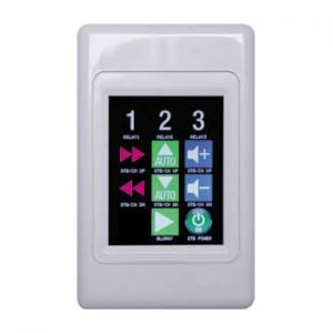 A6500 • Programmable Universal Touchscreen Wallplate