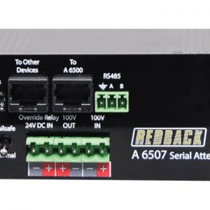 A6507 • RS485 Serial 100V Line Attenuator
