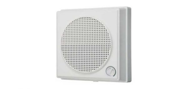C0895 • 165mm 6W 100V Surface Mount ABS Wall Speaker With Volume