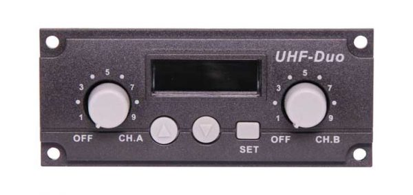 C7187C • UHF Wireless Dual Microphone Receiver 520-544MHz Module
