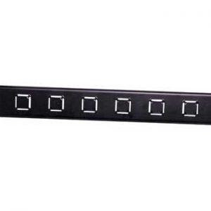 """H4602 • 19"""" 1U Rack Panel Cable Support"""