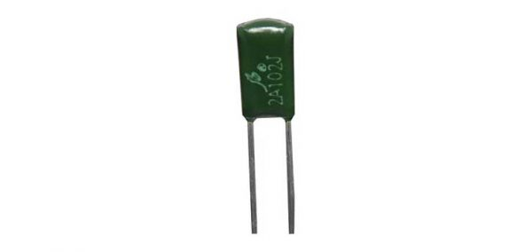 R2718B • 0.01uF 100V 4mm Greencap Capacitor