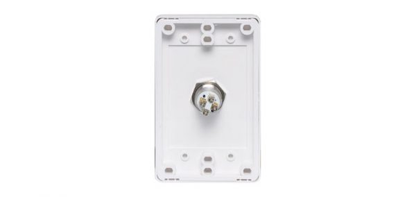 S0150 • Push To Open Wallplate With Illuminated Pushbutton Switch
