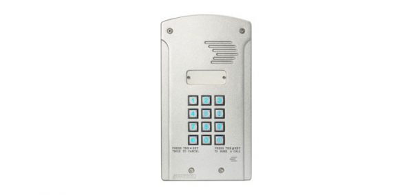 S9480 • ECA Multi Apartment GSM Wireless Backlit Intercom MCI3000V21L