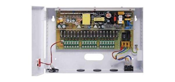 S9752A • 18 Way 12V DC CCTV Power Supply 15A