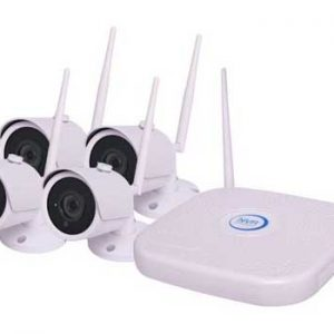 S9941 • 4 Channel Wireless 4MP CCTV Surveillance Package